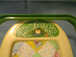 VINTAGE 1983 CABBAGE PATCH KIDS DOLL CARRIER COMPLETE