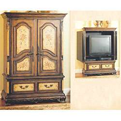 Continents French Provincial Entertainment Center  Overstock