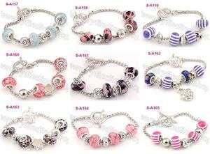 new special clasp European charm bracelet S_A157 165