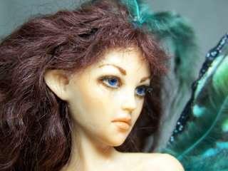 OOAK Custom fairy or mermaid fantasy portrait art doll IADR ADSG Kate