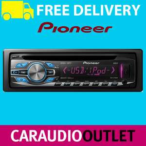Pioneer DEH 3400UB Car Stereo CD MP3 Front USB Aux In Tuner iPod