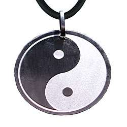Stainless Steel Yin Yang Necklace