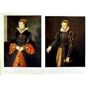 1950 PRINCESS MARY ELIZABETH KING HENRY VIII SALVIA