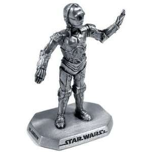 Star Wars C3PO Pewter Figurine Toys & Games