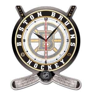 Boston Bruins NHL Hockey Crossed Sticks & Puck Hi Definition