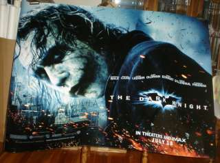 THE DARK KNIGHT BATMAN joker 5FT POSTER Heath Ledger XL
