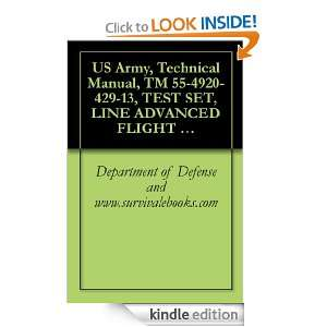 , Technical Manual, TM 55 4920 429 13, TEST SET, LINE ADVANCED FLIGHT