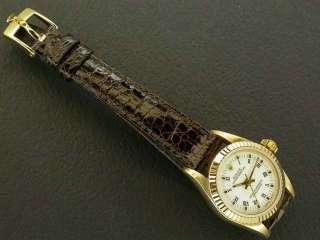 Authentic Ladies Womens Rolex 18K Yellow Gold President
