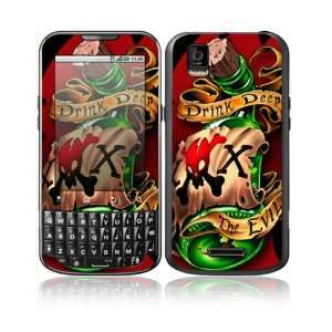 Bottle Design Decorative Skin Cover Decal Sticker for Motorola Droid
