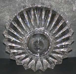 Rosenthal Blossom Crystal Glass Fruit Centerpiece Bowl