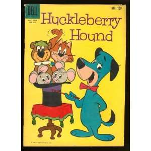 Huckleberry Hound 4 Color #990 (#1) vintage 1959 Dell Dell Comics
