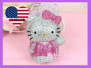 Bling Bling High Quality Super Shinny 3D Hello Kitty Apple iPhone 4 4S