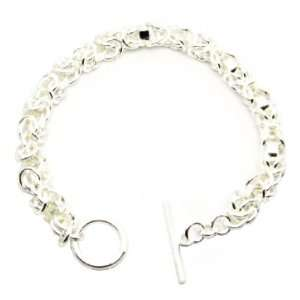 Beautiful Leading Silver Plated Women Chain Bracelet (Easters Gift)
