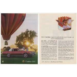 1980 Cadillac Coupe deVille Hot Air Balloon 2 Page Print