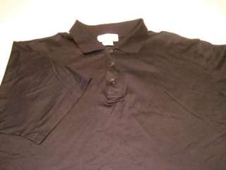 Mens Casual Shirt Franco Ziche Polo Made in Italy Size XXL Black