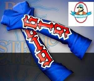 WWE Rey Mysterio Blue & Red Armband Set