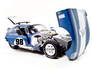 cobra daytona 98 by shelby collectables brand new box rubber tires