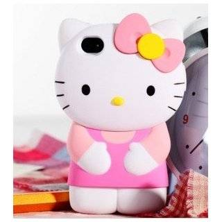 NEW 3D HELLO KITTY IPHONE CASE FOR iPhone 4/4S (PINK