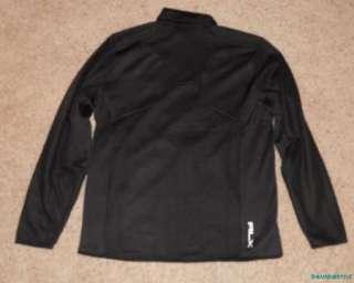 245 Ralph Lauren RLX Golf Black Logo Wool Blend Jacket Large