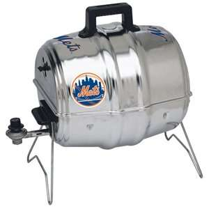 , Inc. MLB Keg A Que Gas Grill   New York Mets Sports Fan Shop