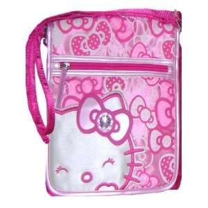 Casual Hello Kitty Pink Messenger Bag Bonus Cell Phone