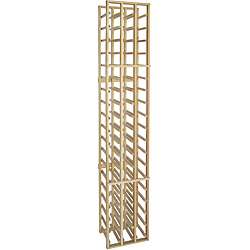 Epicureanist 72 inch 3 column Wood Wine Rack  Overstock