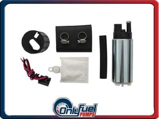 High Quality Performance 255LPH Fuel Pump w Install Kit