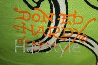 ED Hardy T Shirt Tattoo Sleeve LIME LOVE KILLS SLOWLY