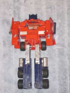 Transformers G2 Original Optimus Prime with G1 Optimus Prime