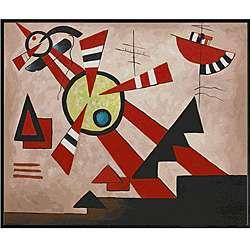 Kandinsky Untitled Hand painted Oil Canvas Art
