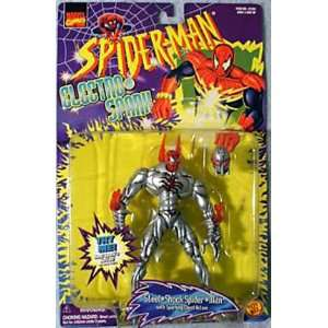 Spider Man Electro Spark Series Steel Shock Spider Man: Toys & Games