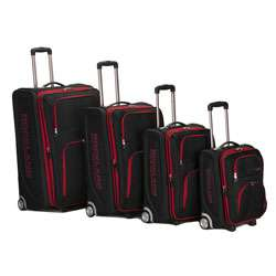 Rockland Polo Equipment Olympian 4 piece Red / Black Expandable