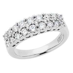 1.01 Carat 18kt White Gold Diamond Ring Jewelry