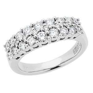 1.01 Carat 18kt White Gold Diamond Ring Jewelry