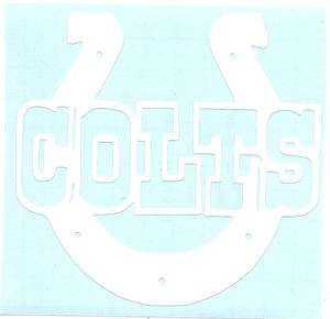 Indianapolis Colts Vinyl Decal/Sticker
