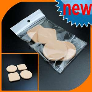 Perfect Face Body Powder Puff Cosmetic Makeup Sponge (Circle + Square