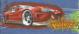 PEEL & STICK MADFAST HOT WHEELS Wallpaper bordeR Wall