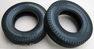 tire Set for Knight & King Hauler Semi Tractor Trailer & Tanker Truck