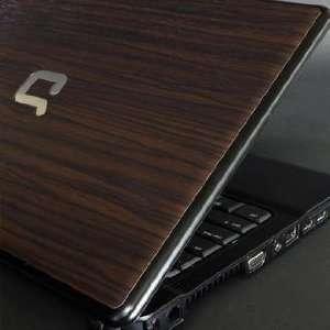 HP Compaq 510 Laptop Cover Skin [Walnut Wood] Office