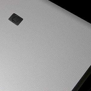 HP 6730B Laptop Cover Skin [White Learther] Electronics