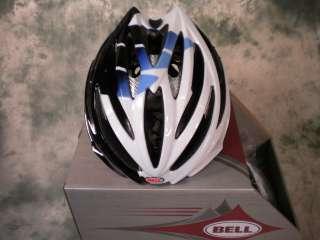 NEW 2011 BELL VOLT CYCLING HELMET SAXO BANK LARGE