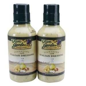 Olive Garden Signature Italian Dressing. 2/20oz Bottles