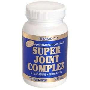 Genesis Super Joint Complex Capsules, Maximum Strength, 750 mg, 60