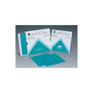 H09105 Dental Dam Face Mask Hygenic Rubber Green Med 6x6 15 Per Box by