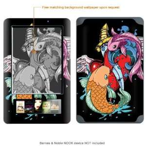Skin Sticker for  (Matte Finish) case cover MATT_NOOK 54