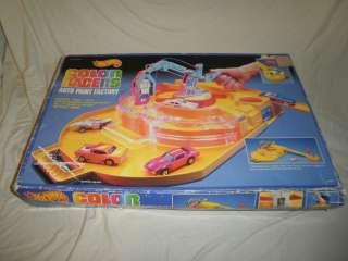 1988 Mattel Hot Wheels Color Racers Auto Paint Factory & Box