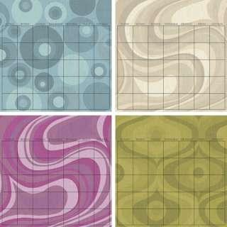 WallPops Twister Dry Erase Calendar Decal Set Decor