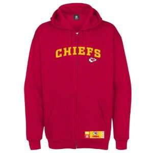 Kansas City Chiefs Classic Heavyweight Full Zip Hooded Fleece