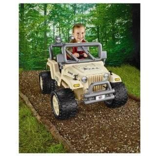 Power Wheels Jeep Wrangler Rubicon  Toys & Games