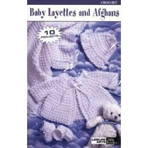 Baby Layettes And Afghans   Crochet Patterns